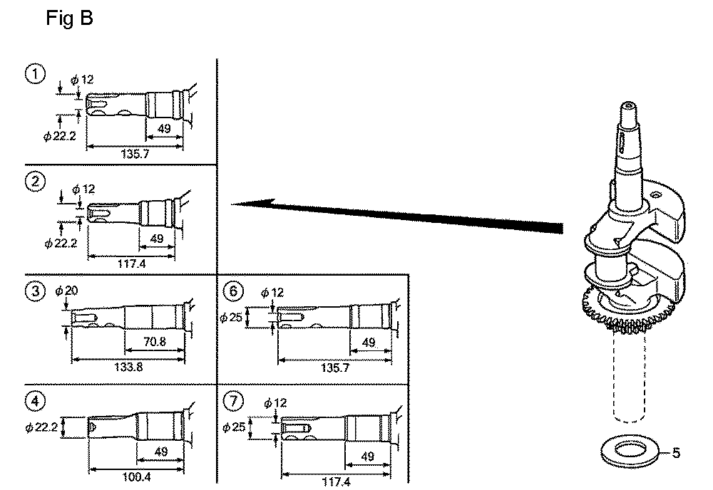 GSV190A-TA1AF-Honda-PB-2Break Down