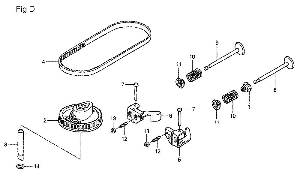 GSV190A-TA1AF-Honda-PB-4Break Down