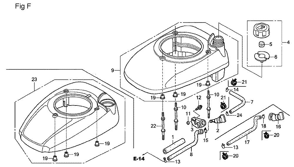 GSV190A-TA1AF-Honda-PB-6Break Down