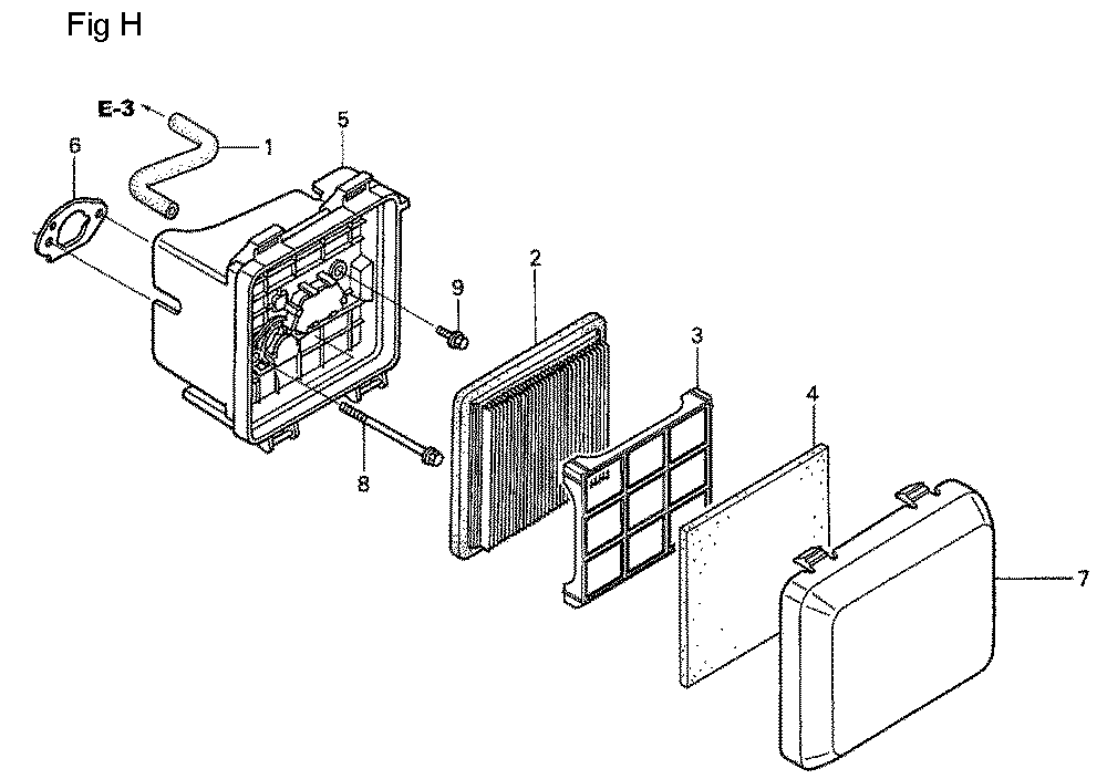 GSV190A-TA1AF-Honda-PB-8Break Down