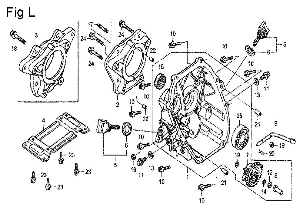 GX100U-TKRGA-Honda-PB-12Break Down