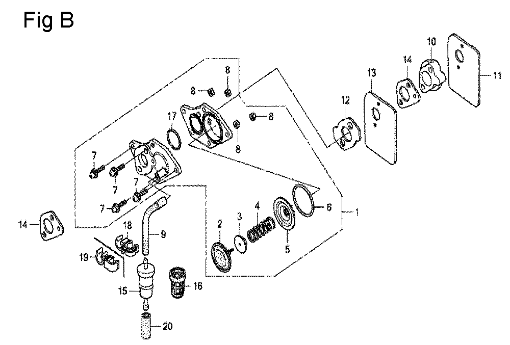 GX100U-TKRGA-Honda-PB-2Break Down
