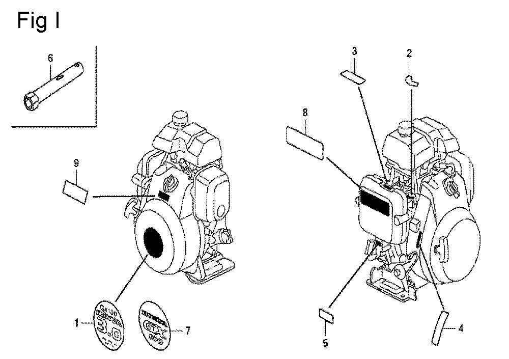 GX100U-TKRGA-Honda-PB-9Break Down
