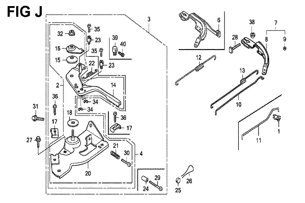 GX120K1-(LX4-seri-43-9099999)-Honda-PB-10Break Down