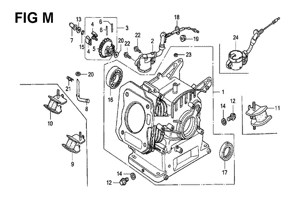 GX120K1-(LX4-seri-43-9099999)-Honda-PB-13Break Down