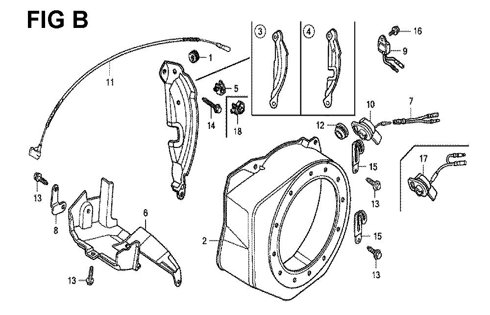 GX120K1-(LX4-seri-43-9099999)-Honda-PB-2Break Down