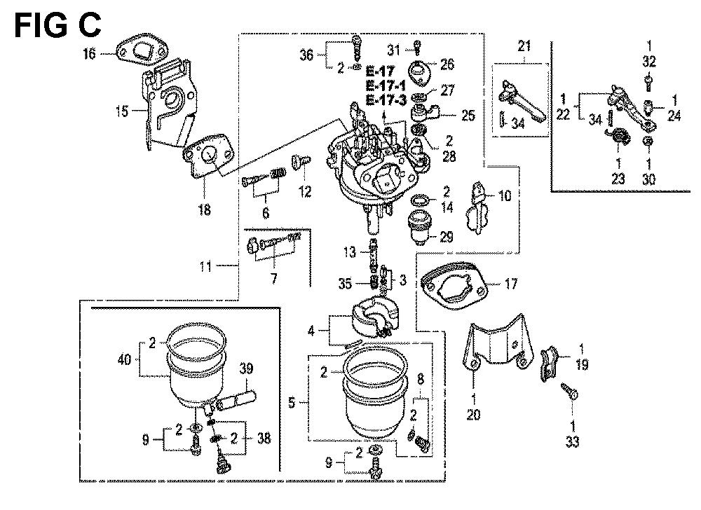 GX120K1-(LX4-seri-43-9099999)-Honda-PB-3Break Down