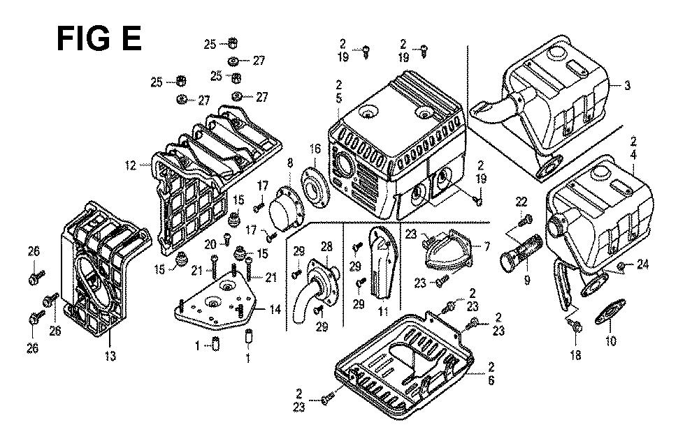 GX120K1-(LX4-seri-43-9099999)-Honda-PB-5Break Down