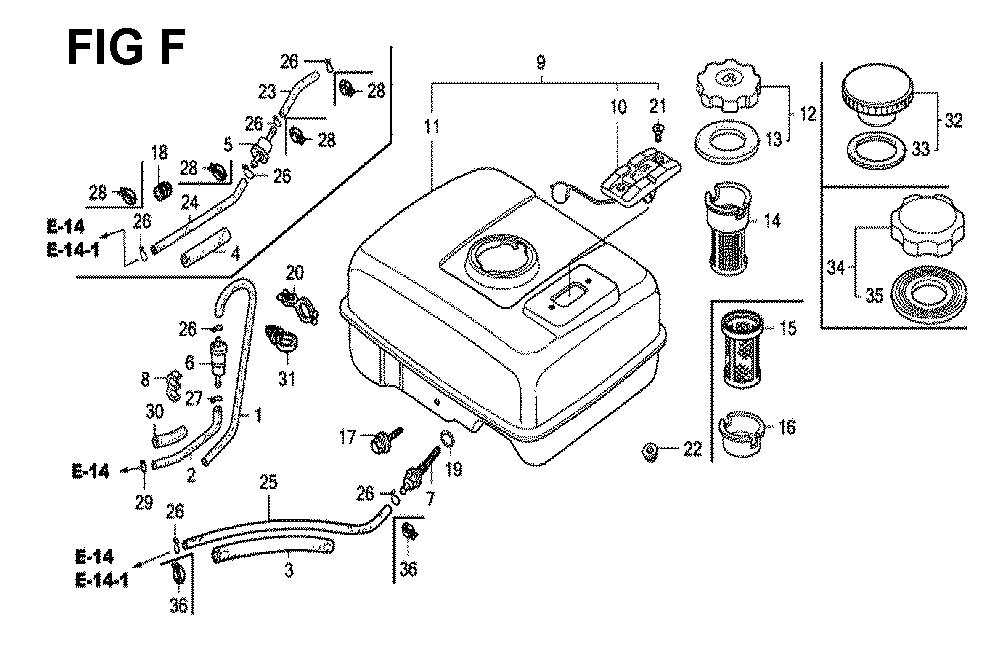 GX120K1-(LX4-seri-43-9099999)-Honda-PB-6Break Down