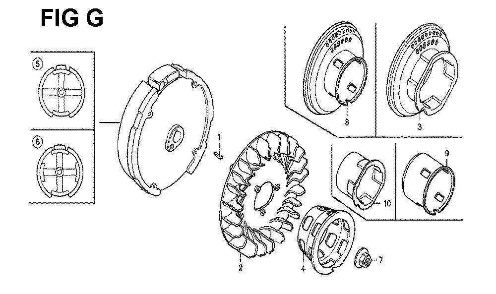 GX120K1-(LX4-seri-43-9099999)-Honda-PB-7Break Down