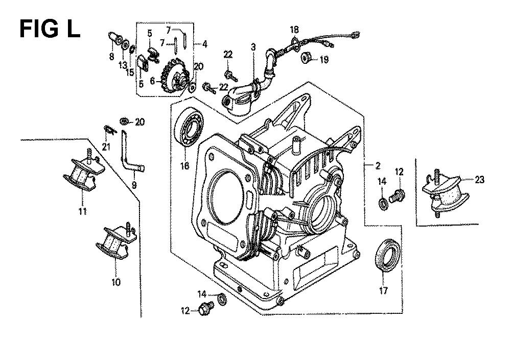 GX120K1-TLX26-Honda-PB-12Break Down