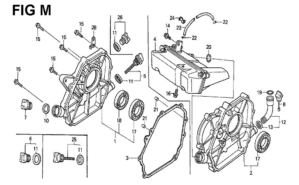 GX120K1-TLX26-Honda-PB-13Break Down