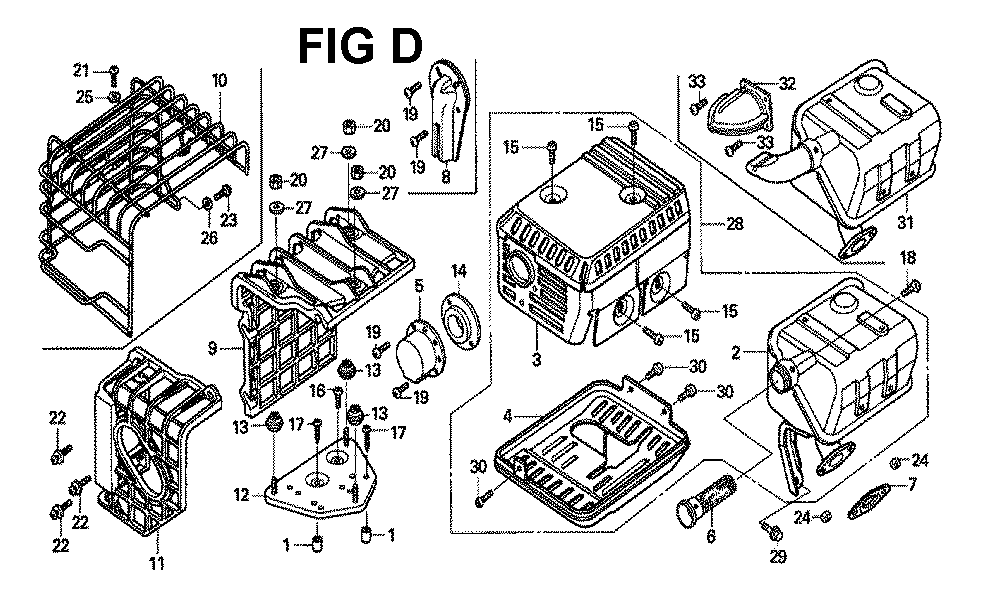 GX120K1-TLX26-Honda-PB-4Break Down