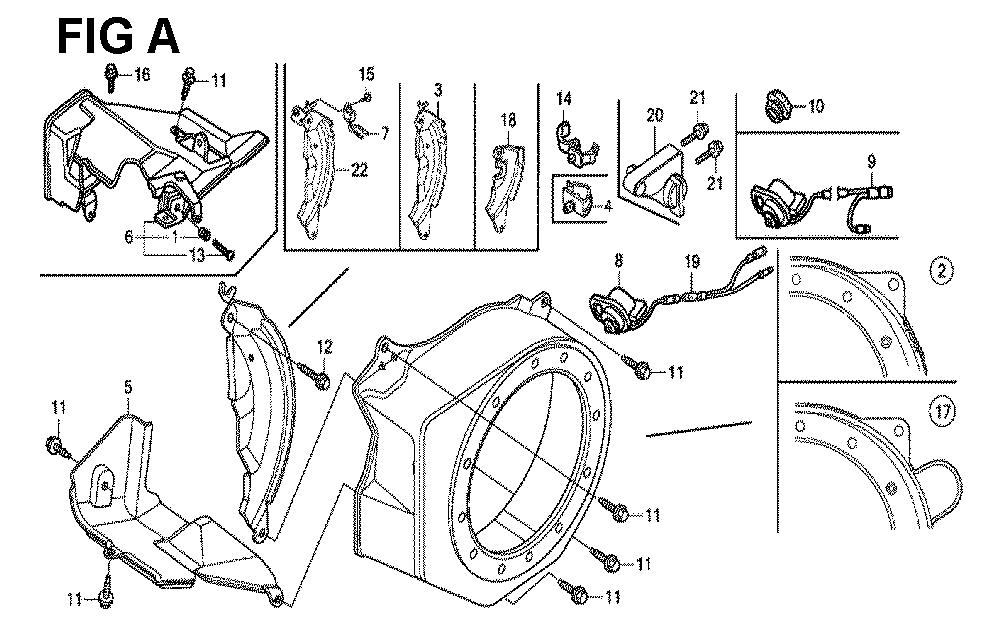GX160H1-TQXBRA-Honda-PB-1Break Down