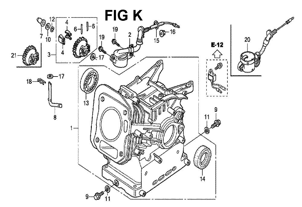 GX160H1-TQXBRA-Honda-PB-11Break Down