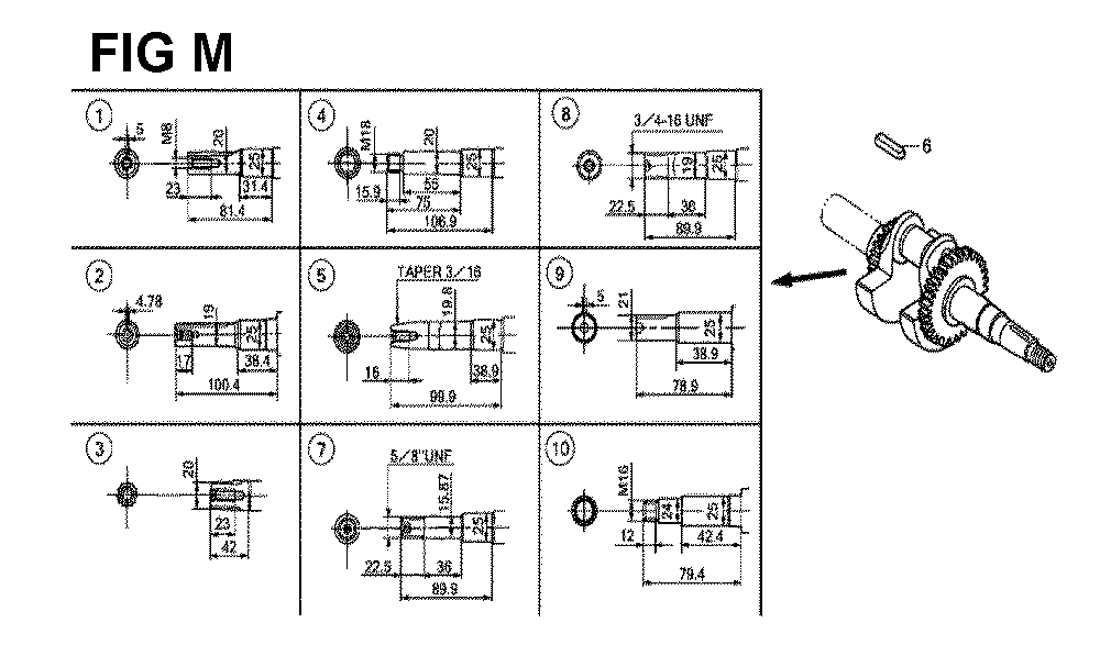 GX160H1-TQXBRA-Honda-PB-13Break Down