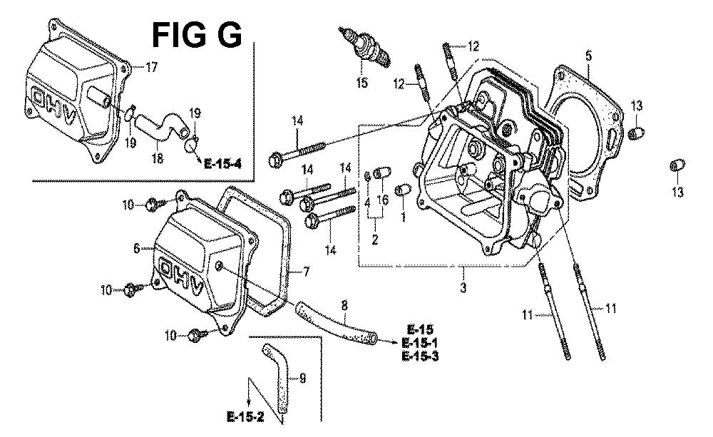 GX160H1-TQXBRA-Honda-PB-7Break Down