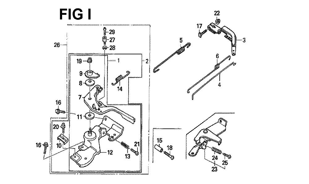 GX160H1-TQXBRA-Honda-PB-9Break Down