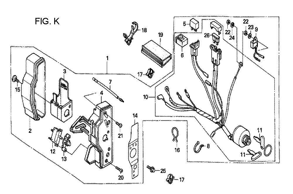 GX160U1-TQXWE-Honda-PB-11Break Down