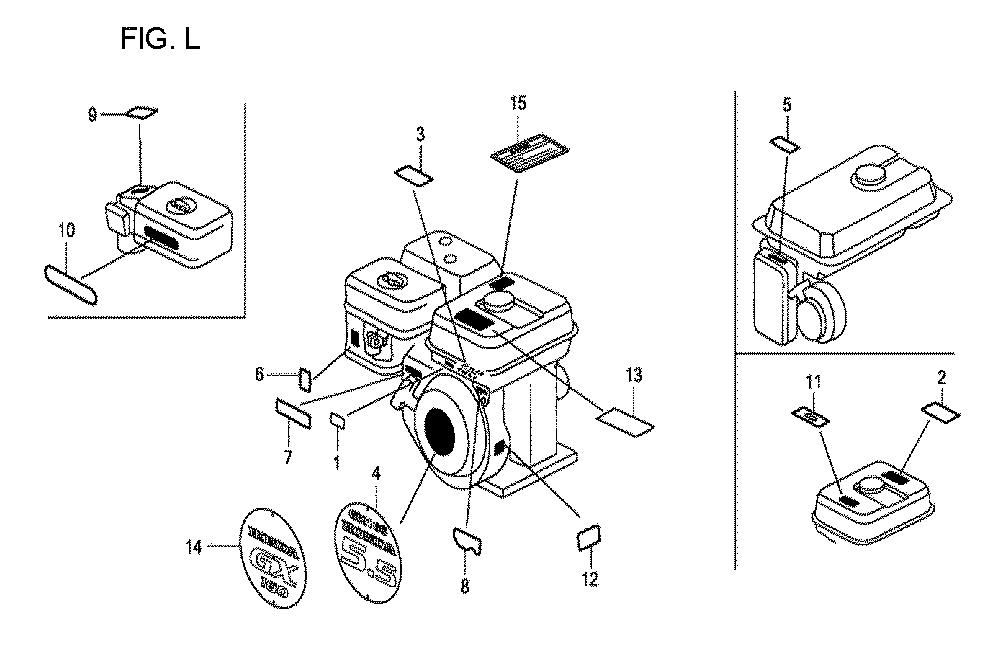 GX160U1-TQXWE-Honda-PB-12Break Down