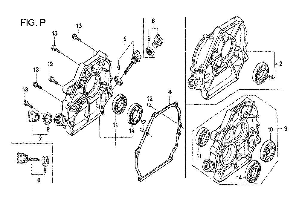 GX160U1-TQXWE-Honda-PB-16Break Down