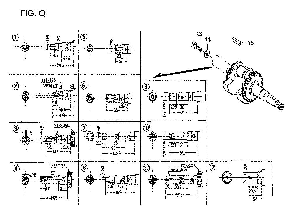 GX160U1-TQXWE-Honda-PB-17Break Down