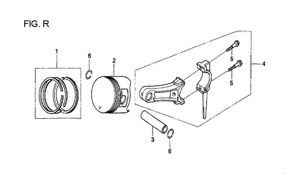 GX160U1-TQXWE-Honda-PB-18Break Down