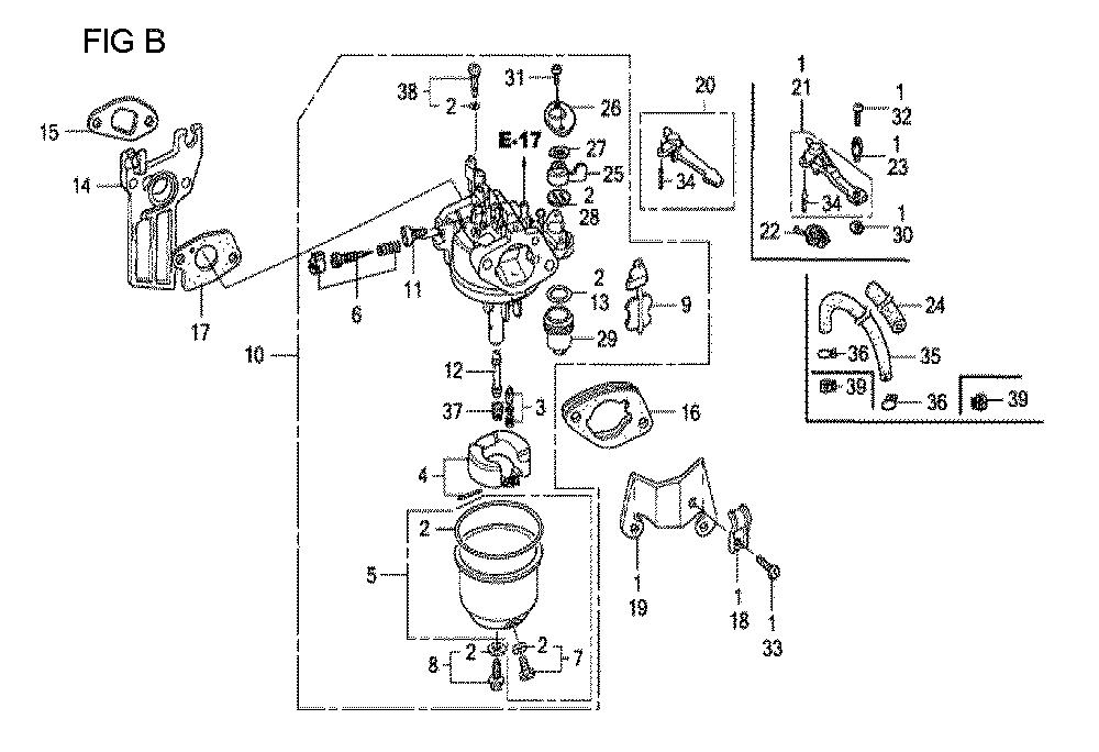 GX160U1-TQXWE-Honda-PB-2Break Down