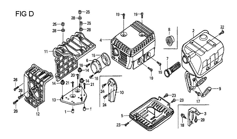GX160U1-TQXWE-Honda-PB-4Break Down