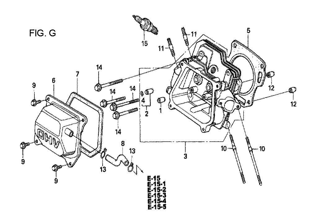 GX160U1-TQXWE-Honda-PB-7Break Down