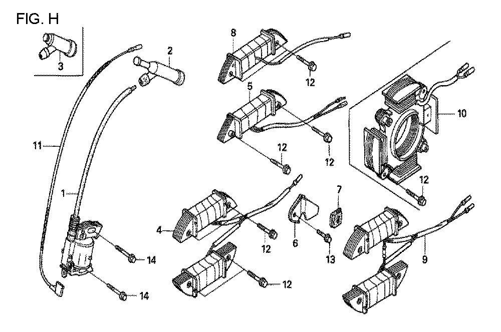 GX160U1-TQXWE-Honda-PB-8Break Down