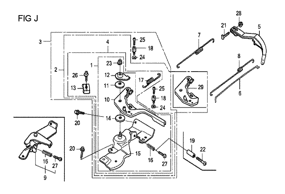 GX160U1-TVPR7-Honda-PB-10Break Down