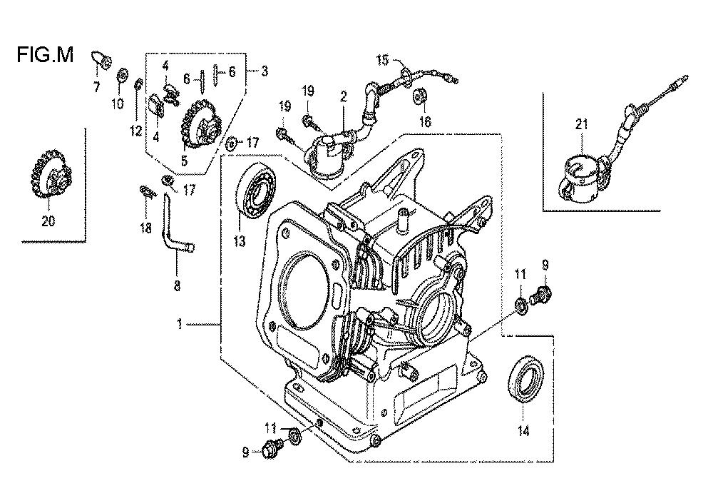 GX160U1-TVPR7-Honda-PB-13Break Down