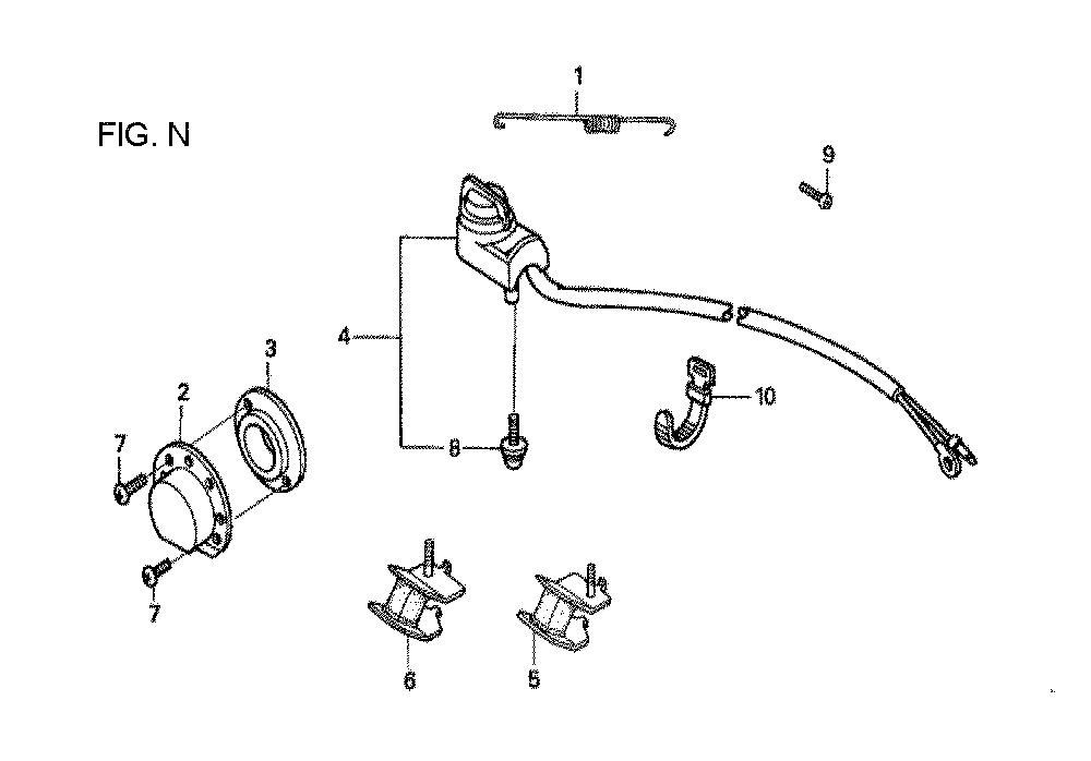 GX160U1-TVPR7-Honda-PB-14Break Down