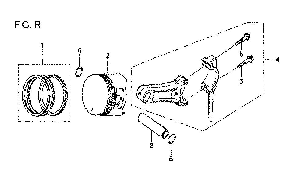 GX160U1-TVPR7-Honda-PB-18Break Down