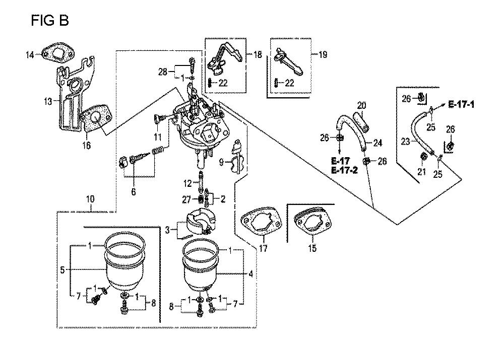 GX160U1-TVPR7-Honda-PB-2Break Down