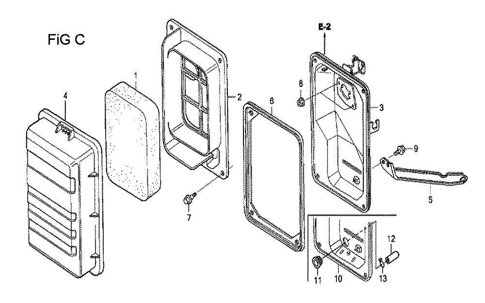 GX160U1-TVPR7-Honda-PB-3Break Down