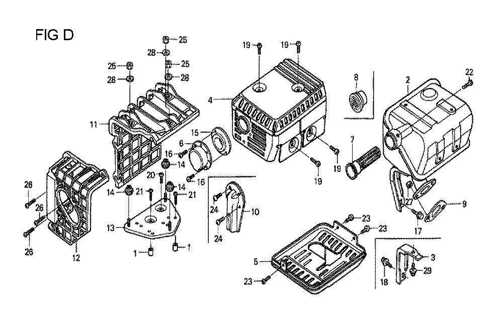 GX160U1-TVPR7-Honda-PB-4Break Down