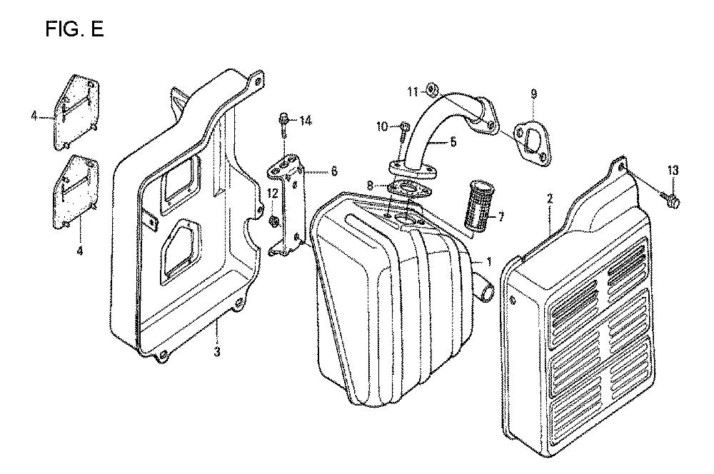 GX160U1-TVPR7-Honda-PB-5Break Down