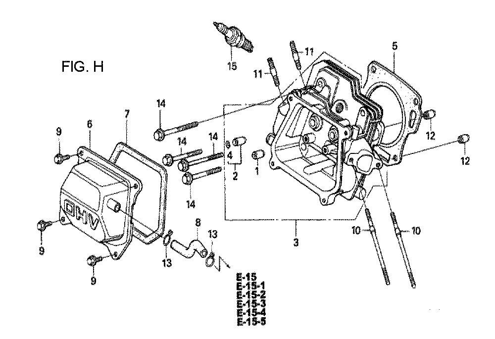 GX160U1-TVPR7-Honda-PB-8Break Down