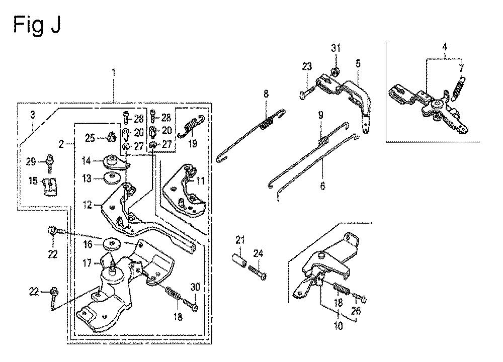 GX200-(PX-Seri-19-8999999)-Honda-PB-10Break Down