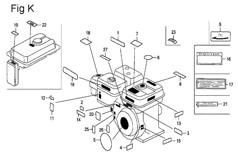 GX200-(PX-Seri-19-8999999)-Honda-PB-11Break Down