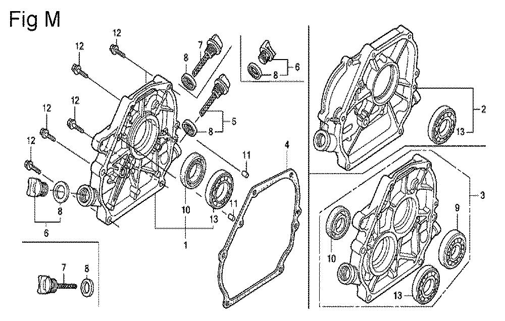 GX200-(PX-Seri-19-8999999)-Honda-PB-13Break Down