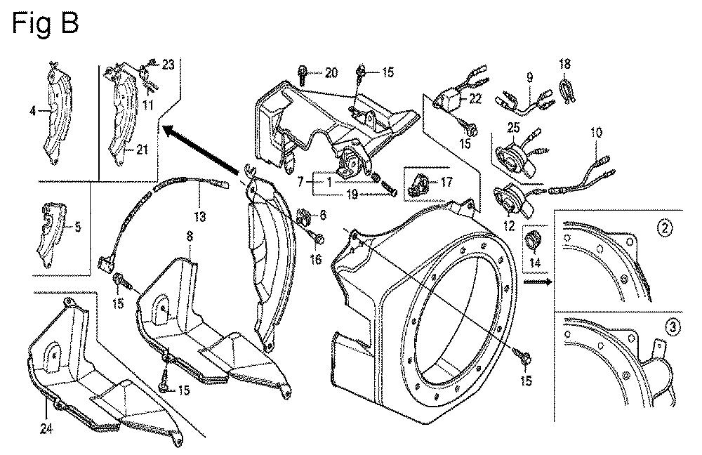 GX200-(PX-Seri-19-8999999)-Honda-PB-2Break Down