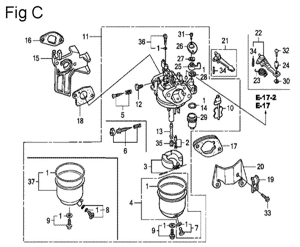 GX200-(PX-Seri-19-8999999)-Honda-PB-3Break Down