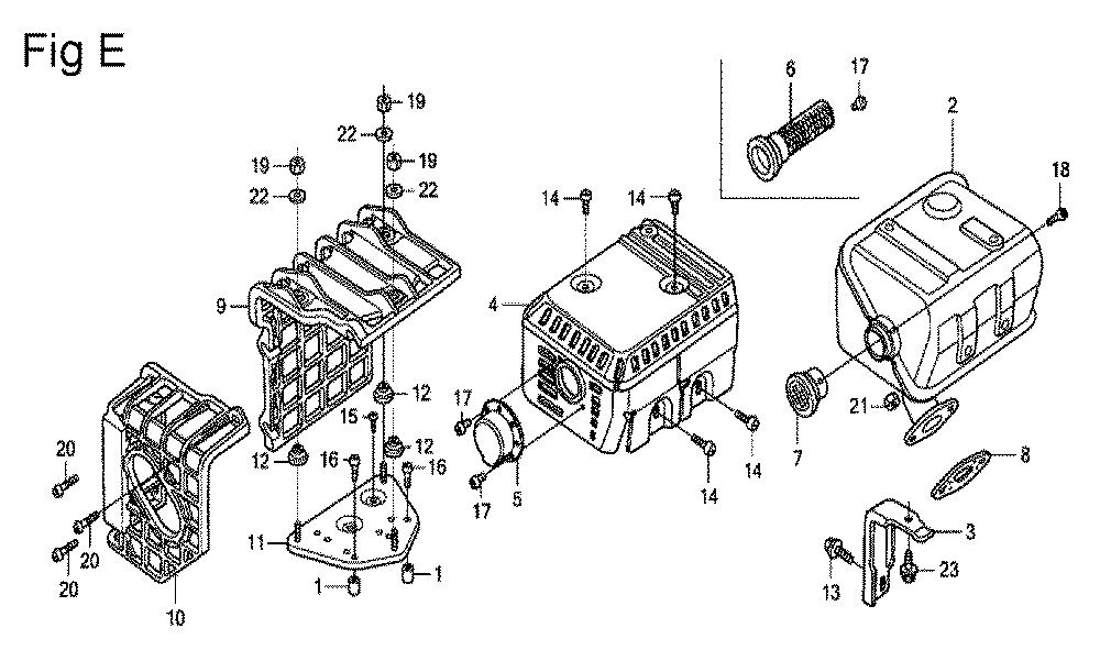 GX200-(PX-Seri-19-8999999)-Honda-PB-5Break Down