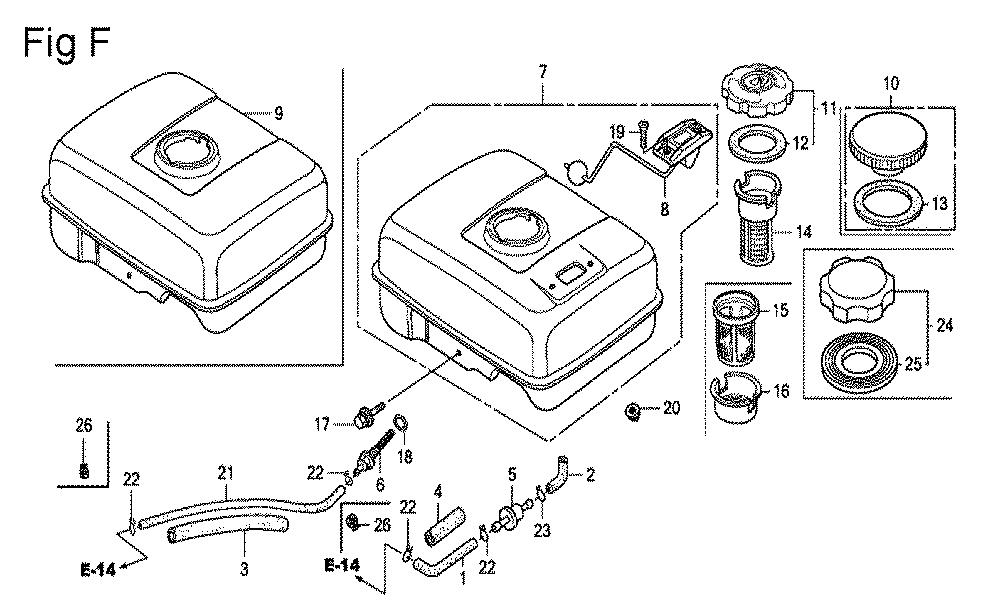 GX200-(PX-Seri-19-8999999)-Honda-PB-6Break Down