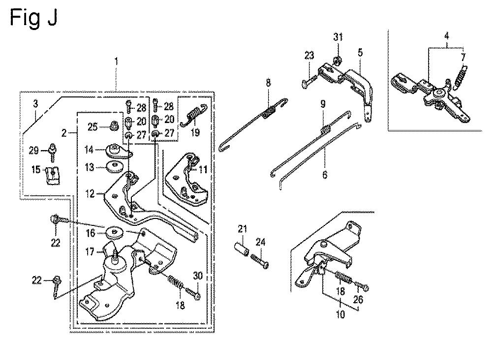 GX200-(QXC9-Seri-19-8999999)-Honda-PB-10Break Down