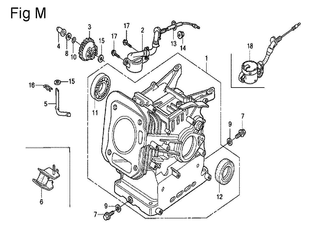 GX200-(QXC9-Seri-19-8999999)-Honda-PB-13Break Down
