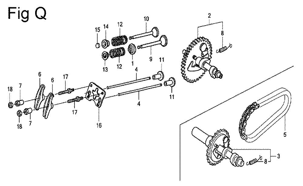 GX200-(QXC9-Seri-19-8999999)-Honda-PB-17Break Down